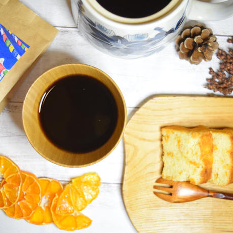 【コラボ企画】みかんとコーヒーのうふふなスイーツセット