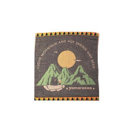 泉州タオル「山と温泉とビール」