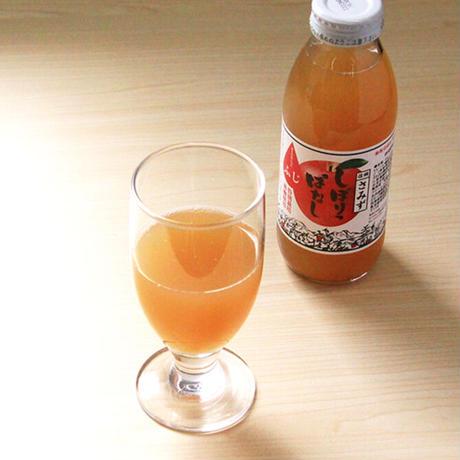 【JA-01】しぼりっぱなしりんごジュース(ふじ) 350ml