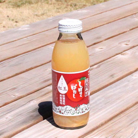 【JA-01】しぼりっぱなしりんごジュース(紅玉) 350ml