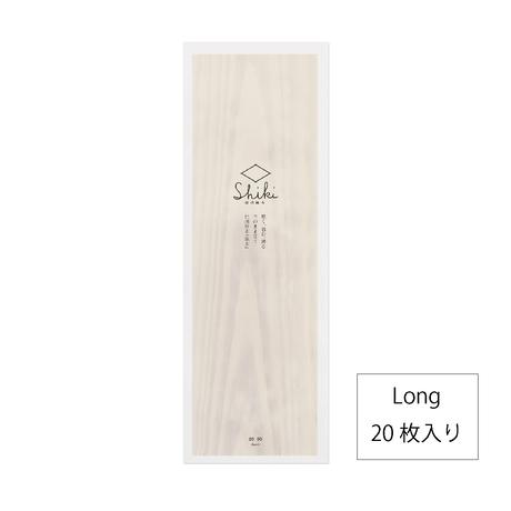信州経木Shiki (Long  20枚入り)