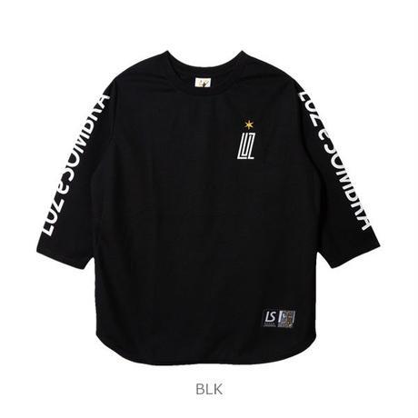LUZ e SOMBRA inherit the kanoko 7sleeve shirt【BLK】