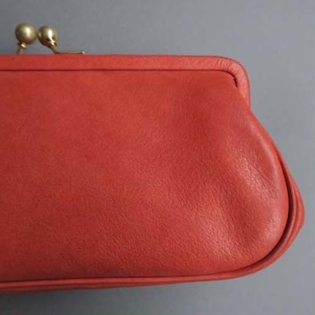 plain gama long wallet (red)