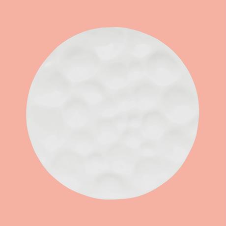 snow plate 丸皿