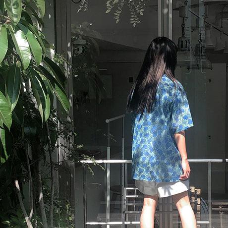 【ya-20007】_unisex open collar shirt