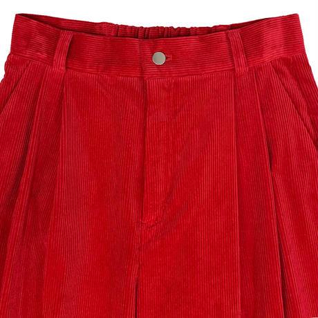 【ya-201015】_corduroy wide pants
