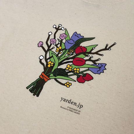 【4/中旬以降発送】『花束みたいな恋をした』コラボアイテム【ya_hanakoi_03】bouquet long T
