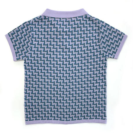【ya-20014】knit polo