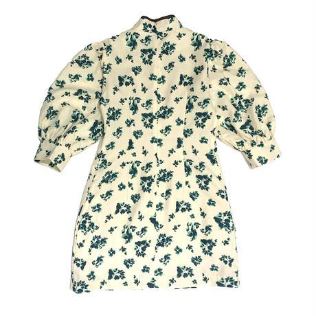 【ya-211010】Leaf pattern china one-piece