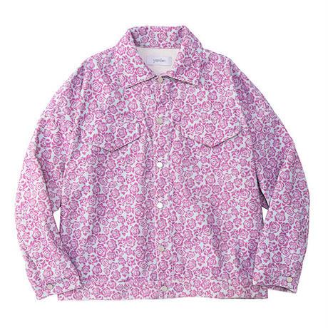 【ya-19111-2】_corduroy jacket (flower)