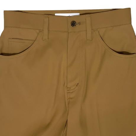 【ya-211006】center press straight pants