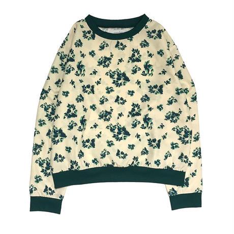 【ya-211012-2】Leaf pattern pullover / no emblem
