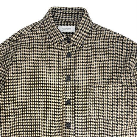【ya-211009】tweed shirt
