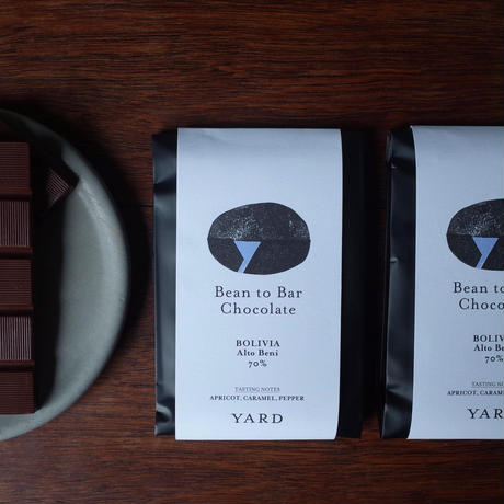 YARD Craft Chocolate - BOLIVIA / Alto Beni -