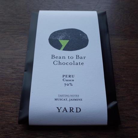 YARD Craft Chocolate - PERU / CUSCO-