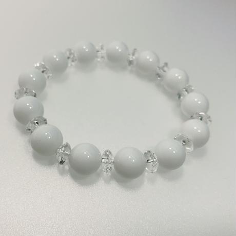 ホワイトオニキス 水晶