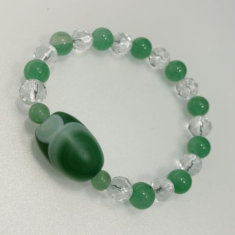 緑瑪瑙 アベンチュリン 水晶