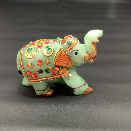 幸せを運ぶ神の遣いの象 アベンチュリン ⑪