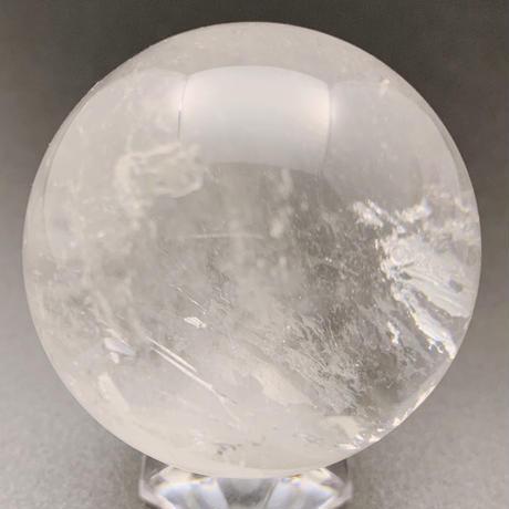 天然水晶 丸玉 48㎜