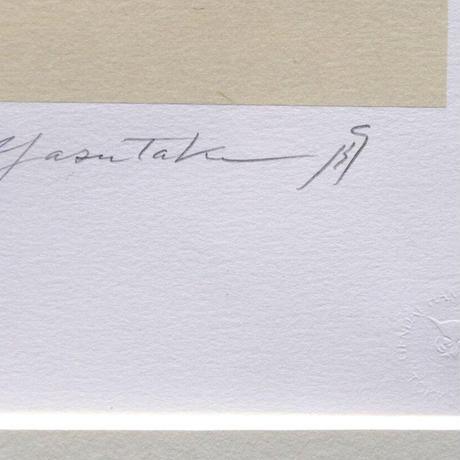 舟越保武「聖クララ」リトグラフ 1984年 9/170部 本人サイン