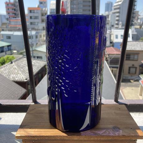 NUUTAJARVI(ヌータヤルヴィ)/Flora(フローラ)/フラワーベース(ダークブルー)H21cm 01