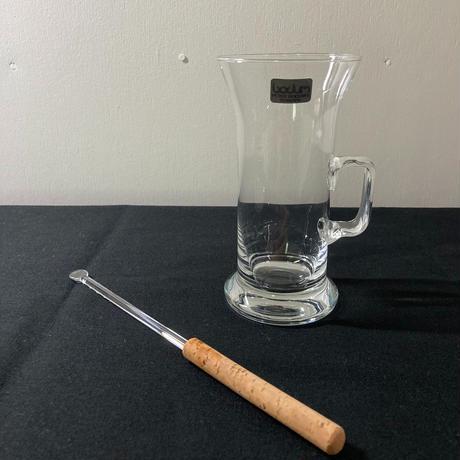 Bodum(ボダム)/アイリッシュコーヒーグラス マドラー付き 02