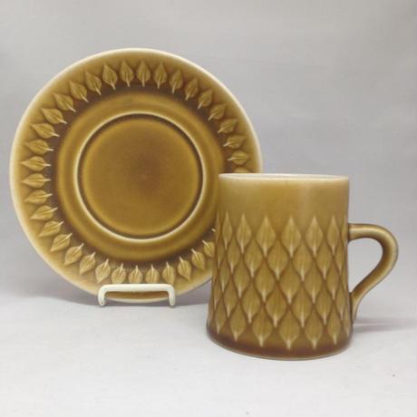 Bing&Grondahl(ビングオーグレンダール)/Relief(レリーフ)/コーヒーカップ&ソーサー 04