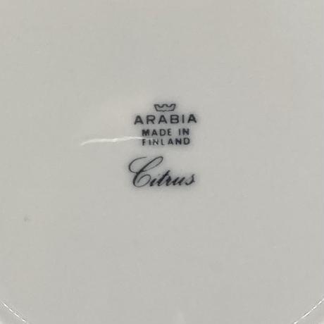 ARABIA(アラビア)/ Citrus(シトラス)/プレート17.5cm  02