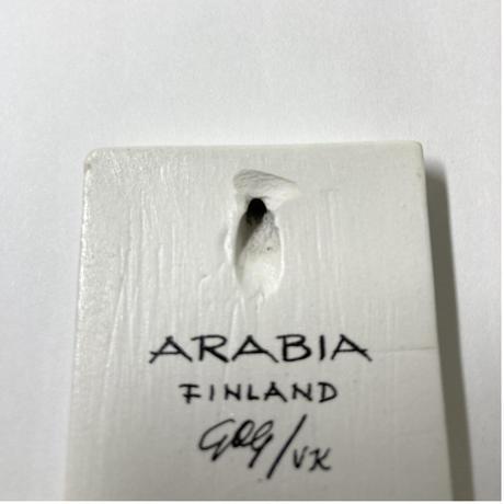 Arabia(アラビア)/小さな壁掛けサイン【Outlet】