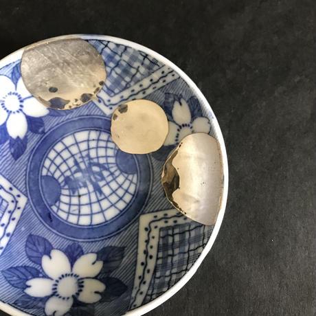骨董の小皿 K-9
