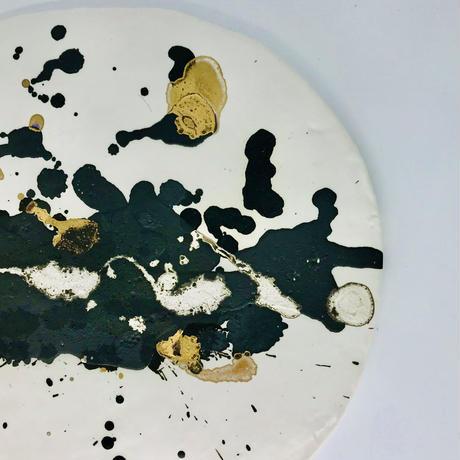 Flat plate  まるB