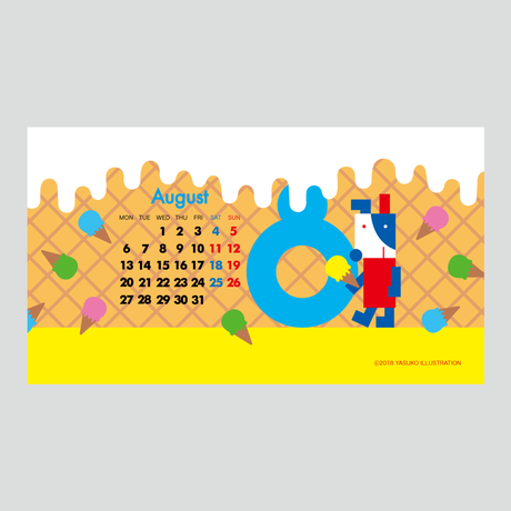 【August 2018】PC用壁紙(1920×1080)