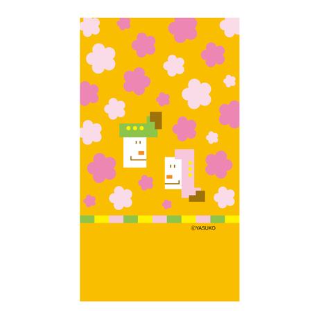 【Doll's Festival】(Yellow Ver.) スマホ用壁紙(1080×1920)