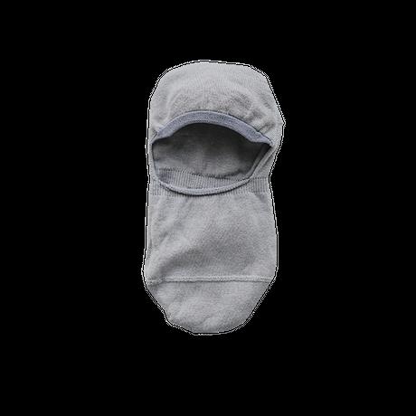 ハイツイストコットンフットカバー グレー 23〜25cm