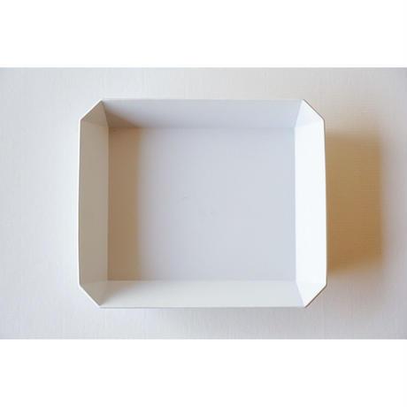 TY Square bowl / Plain Gray / 255