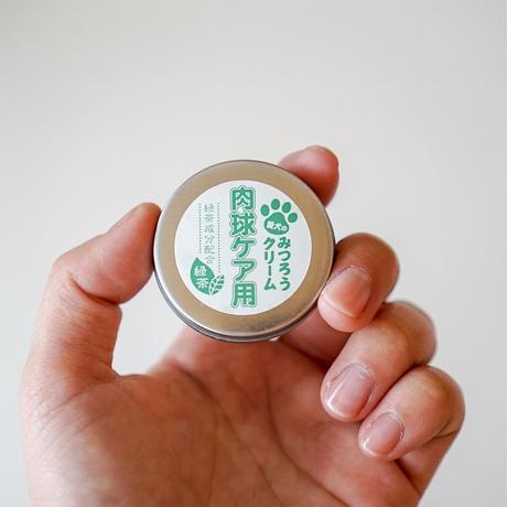 肉球ケア用みつろうクリーム  緑茶   10g