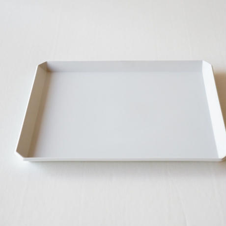 TY Square Plate / Plain Gray /  235