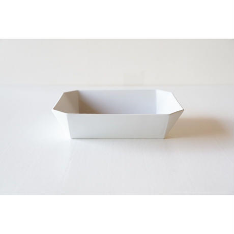 TY Square bowl / Plain Gray / 184