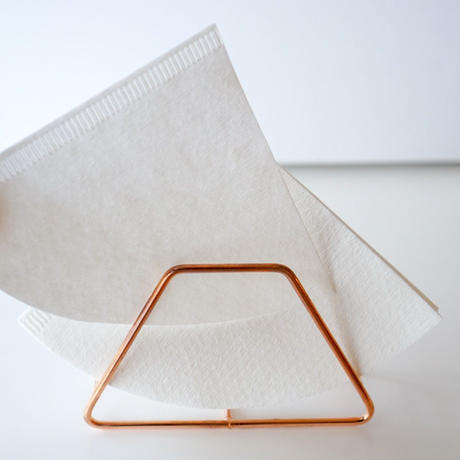 coffee filter holder  copper