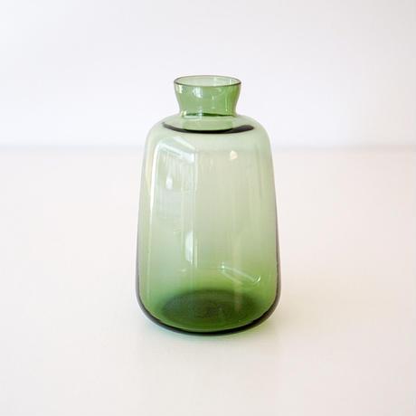 GLASSフラワーベース クラッシー green