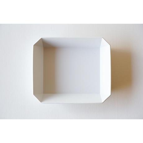 TY Square bowl / Plain Gray / 220