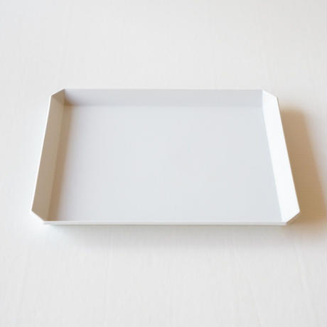 TY Square Plate / Plain Gray /  200