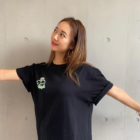 hy4_4yh(ハイパーヨーヨ) 結成15周年アニバーサリー Tシャツ  ☆ユカリン Type. (ブラック)