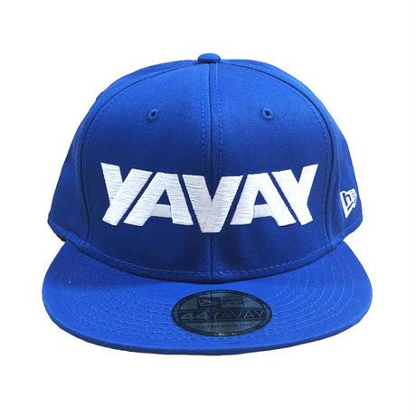YAVAY キャップ (青い稲妻ver.)