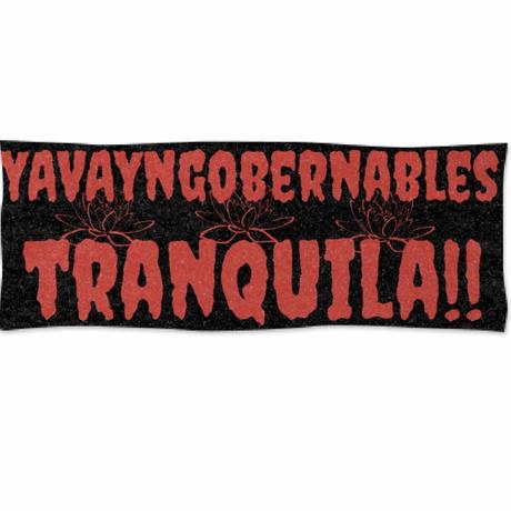 ヤバイ・ンゴベルナブレス 「トランキーラ!」でっかい スポーツタオル