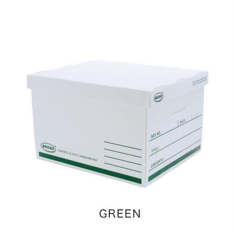 WORKER'S(ワーカーズ) PP BOX  (L) Green