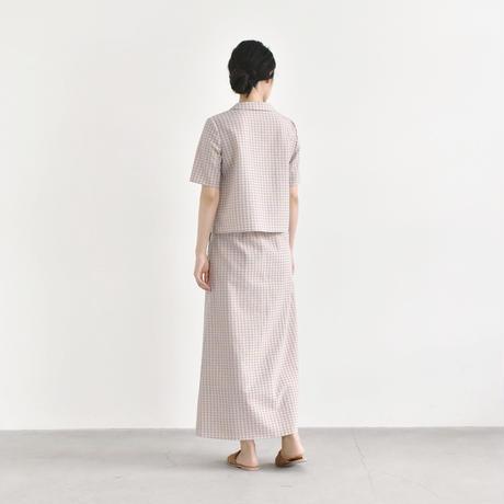 【予約商品】006169 / カラーチェックスカート