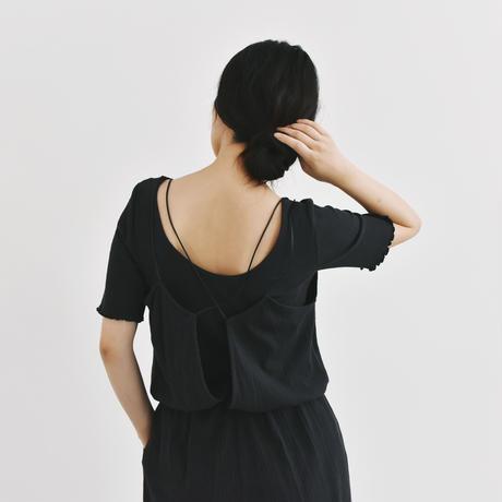 【予約商品】011145 / ランダムリブカットソー