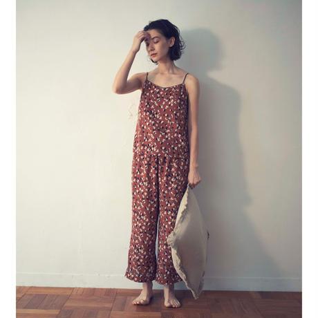 【予約商品】002111 / レオパードプリントパジャマ 2点セット【B】