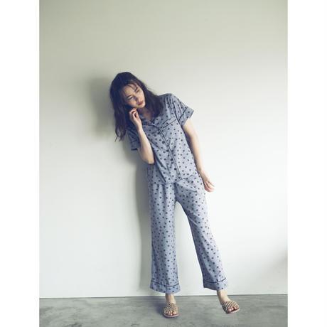 【予約商品】002106 / フラワードットプリントパジャマ 3点セット【F】